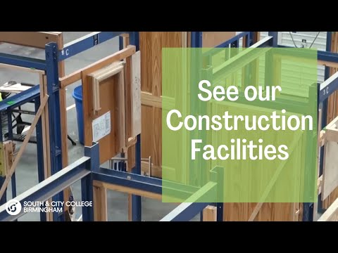 Construction at South & City College Birmingham