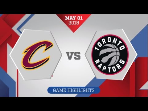 Cleveland Cavaliers vs Toronto Raptors Game 1: May 1, 2018