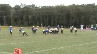 9-12-09 Scrimmage Dulles South Ank1 vs Reston at Stone Ridge pt 1