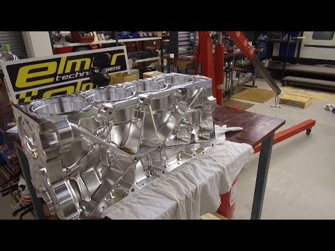 Making of Thor, the 1500hp circuit race engine
