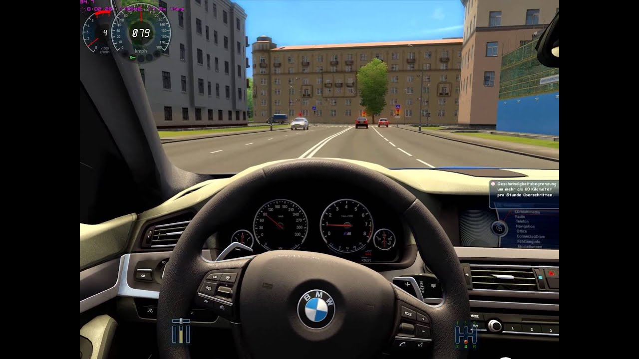 city car driving bmw m5 f10 remake hd with g27 youtube. Black Bedroom Furniture Sets. Home Design Ideas