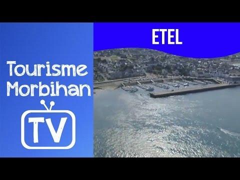 Etel vue du ciel   Tourisme Morbihan TV