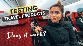 TRAVEL PRODUCT REVIEWS | Portable Humidifier & Footrest | DOES IT WORK?