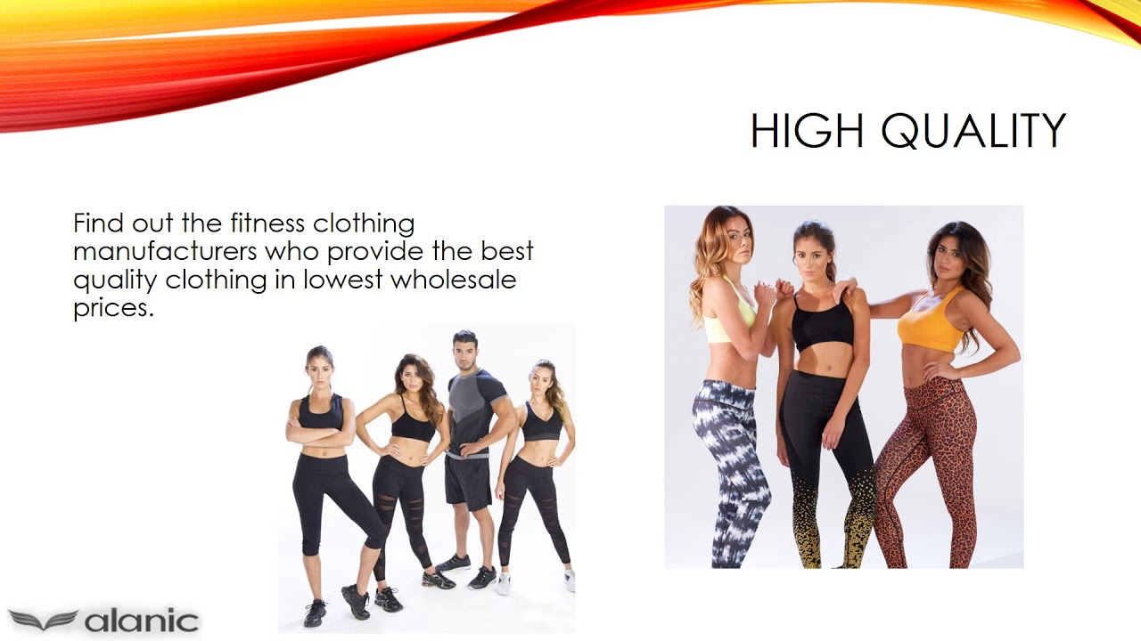 Wholesale Tights Manufacturers How To Choose Low Cost Wholesale Fitness Clothing Manufacturers