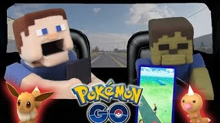Pokemon Go Gameplay - Driving Hack Gameplay (Training Battle Pokeball Capture) Pt. 2
