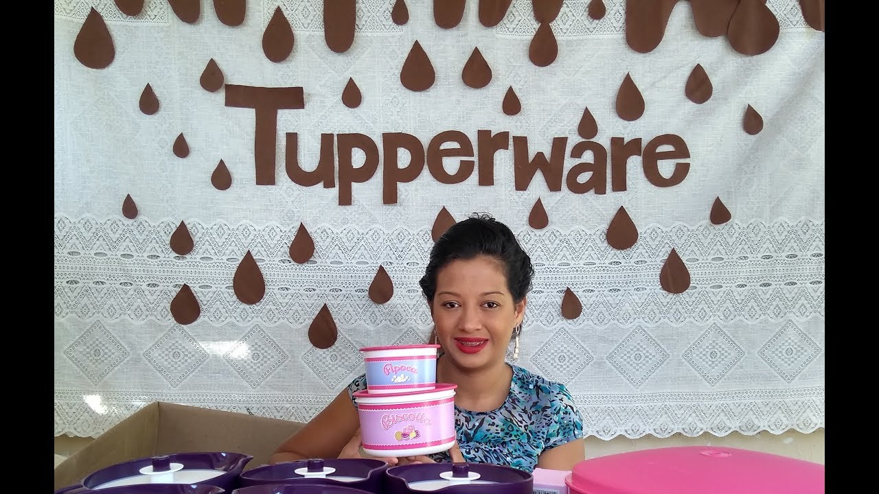 Kit Surpresa Abrindo Caixa Tupperware Semana 11 18 Vt 3