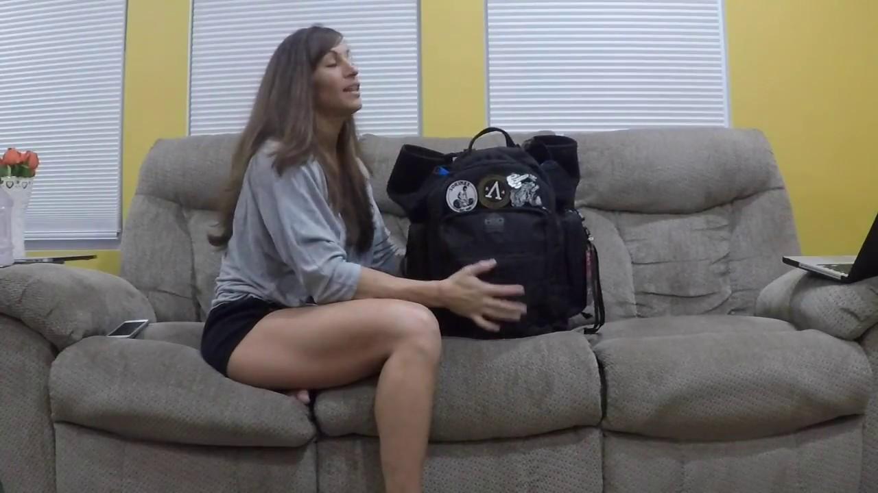 What's inside Kristen Graham's Gym Bag