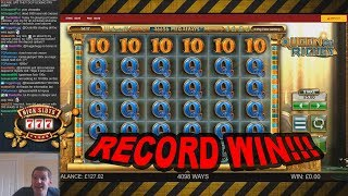 MUST SEE!!! RECORD WIN on Queen of Riches Slot - £5 Bet
