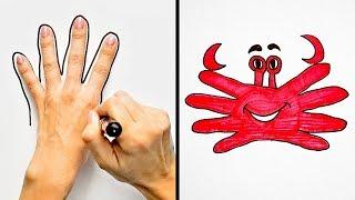 24 من حيل الرسم للأطفال