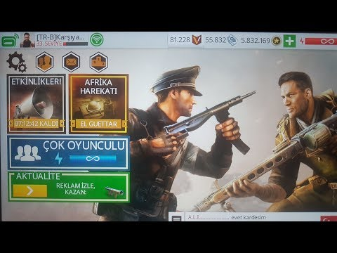 Brothers in arms 3 MOD OFFICIAL HACK unlimited money coin 2018 (no root)