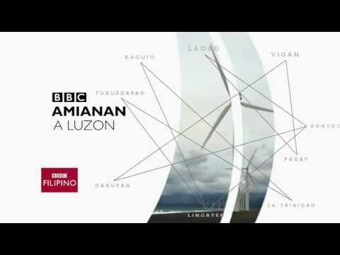 BBC Amianan a Luzon (BBC Regional News title mock)