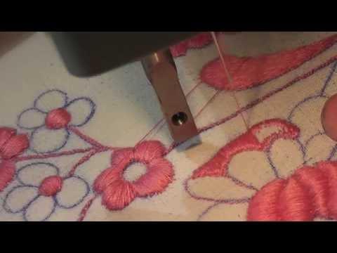 Ricamo a mano macchina con macchina da cucire elettrica for Macchina da cucire seconda mano