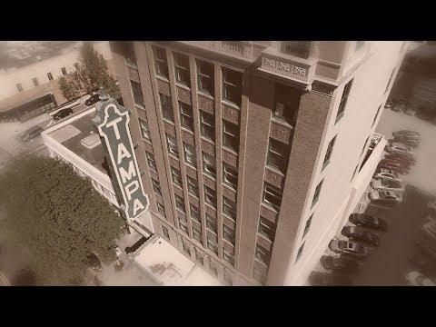 Vintage Aerial of Tampa Theatre