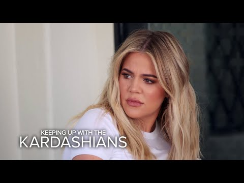 KUWTK | Khloé Kardashian Confronts Kourtney About Her Nasty Attitude | E!