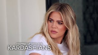 KUWTK | Khloé Kardashian Confronts Kourtney About Her Nasty Attitude | E! thumbnail