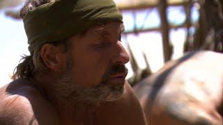 Bristen på mat börjar ta ut sin rätt ordentligt på deltagarna – Robinson (TV4)