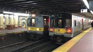 Long Island Rail Road HD 60fps: Afternoon M7 & M3 Trains @ New York Penn Station (2/9/18)