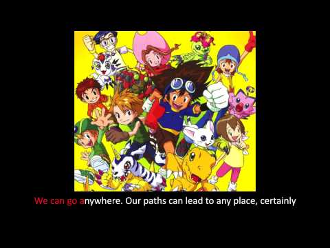 [Digimon] Brave Heart [Easy-Mode English Adaptation Karaoke]