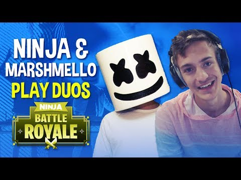 Ninja & Marshmello Play Duos - Fortnite Battle Royale Gameplay