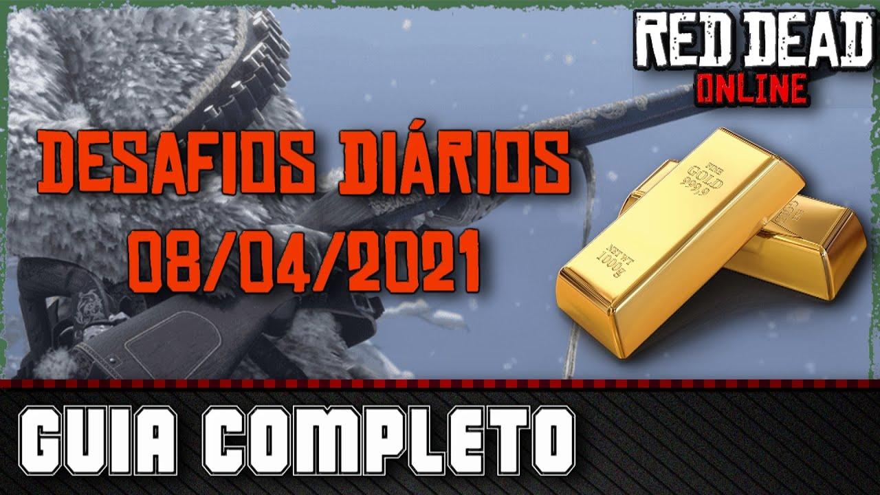 Desafios Diários - Red Dead Online 08/04/2021