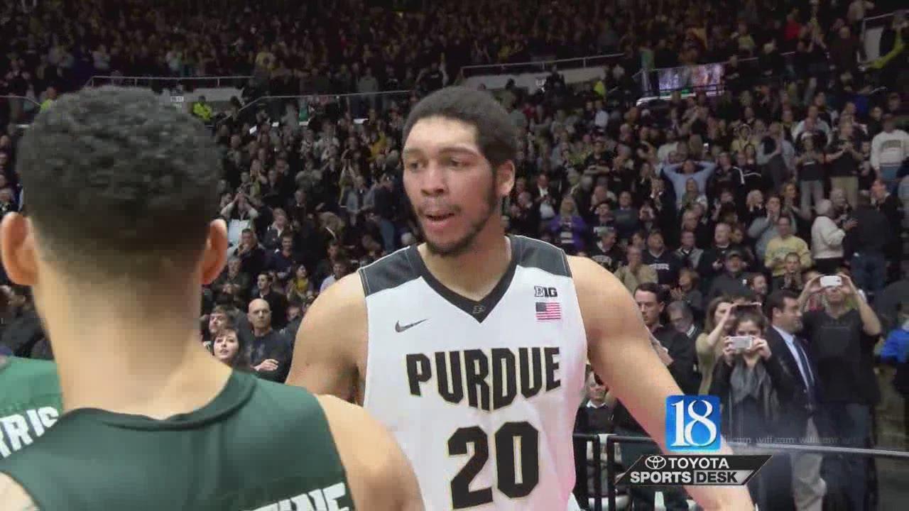 Purdue hands No. 8 Michigan St. historic loss
