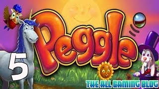 Peggle PC Gameplay / Playthrough Part 5 | Flower Power