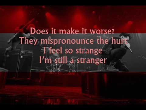AFI - Still a Stranger (Lyrics on screen)
