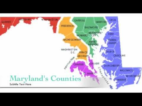 Maryland Counties (A geographical & historical review)