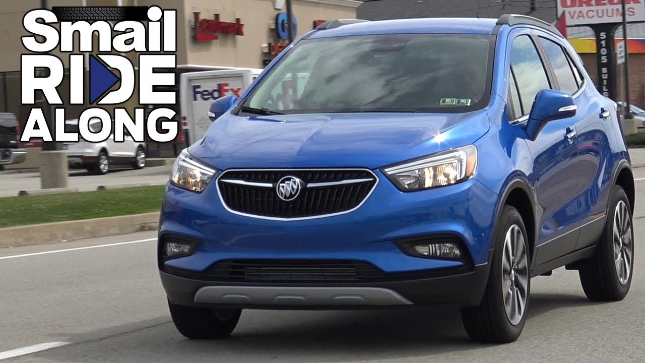2017 Buick Encore Preferred Ii >> 2017 Buick Encore Preferred II AWD - Review & Test Drive