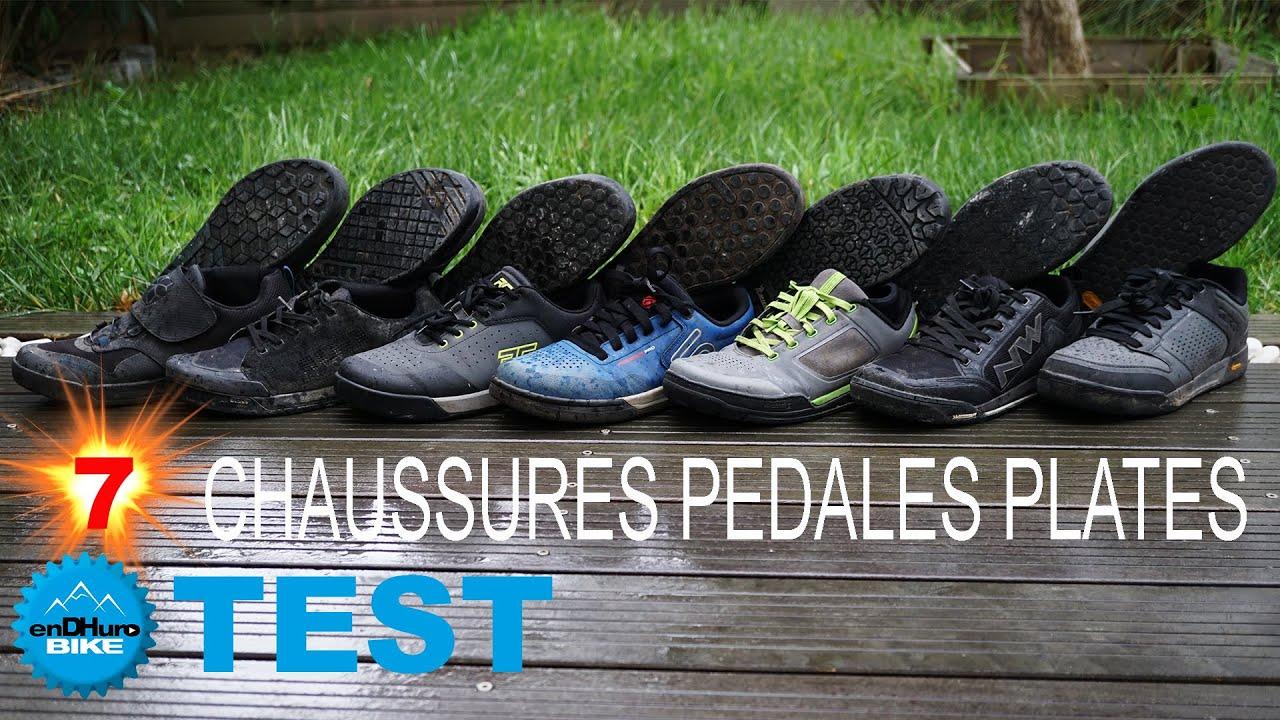 Comparatif Chaussures VTT - On a testé 7 paires de Chaussures pour Pédales Plates
