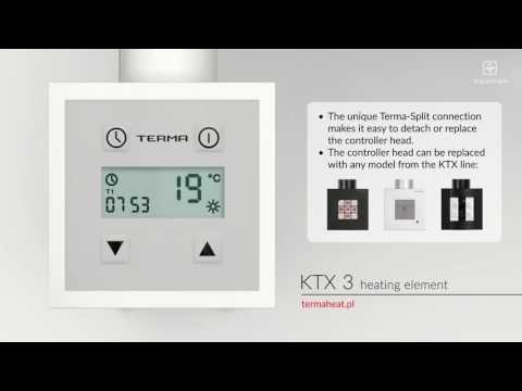 Terma KTX 3 Thermostatic Towel Rail Element Controller