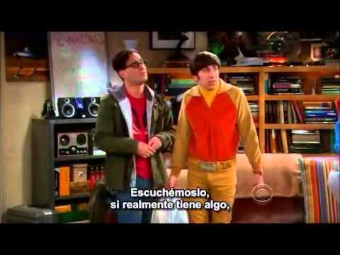 TBBT Sheldon's friendship algorithm sub español