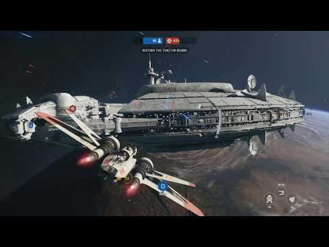 SPACE COMBAT NEW GAMEPLAY - Star Wars Battlefront 2