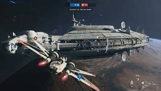 SPACE COMBAT NEW GAMEPLAY - Star Wars Battlefront 2