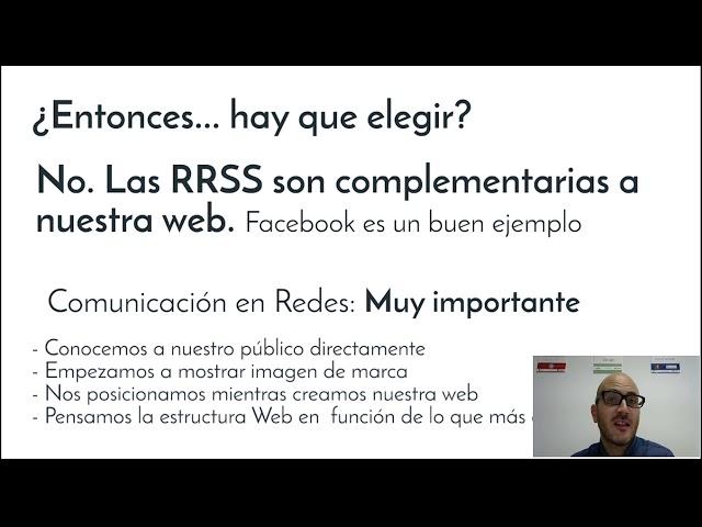 Lección 3: Redes sociales y la Web