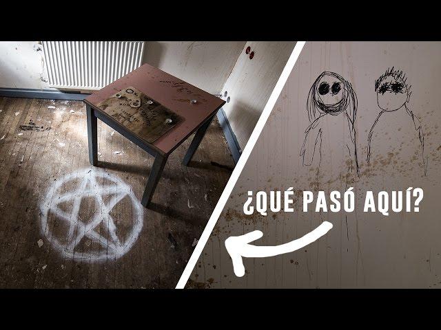 Encontramos RITUAL SATÁNICO y OUIJA en Hotel ABANDONADO - Portillo