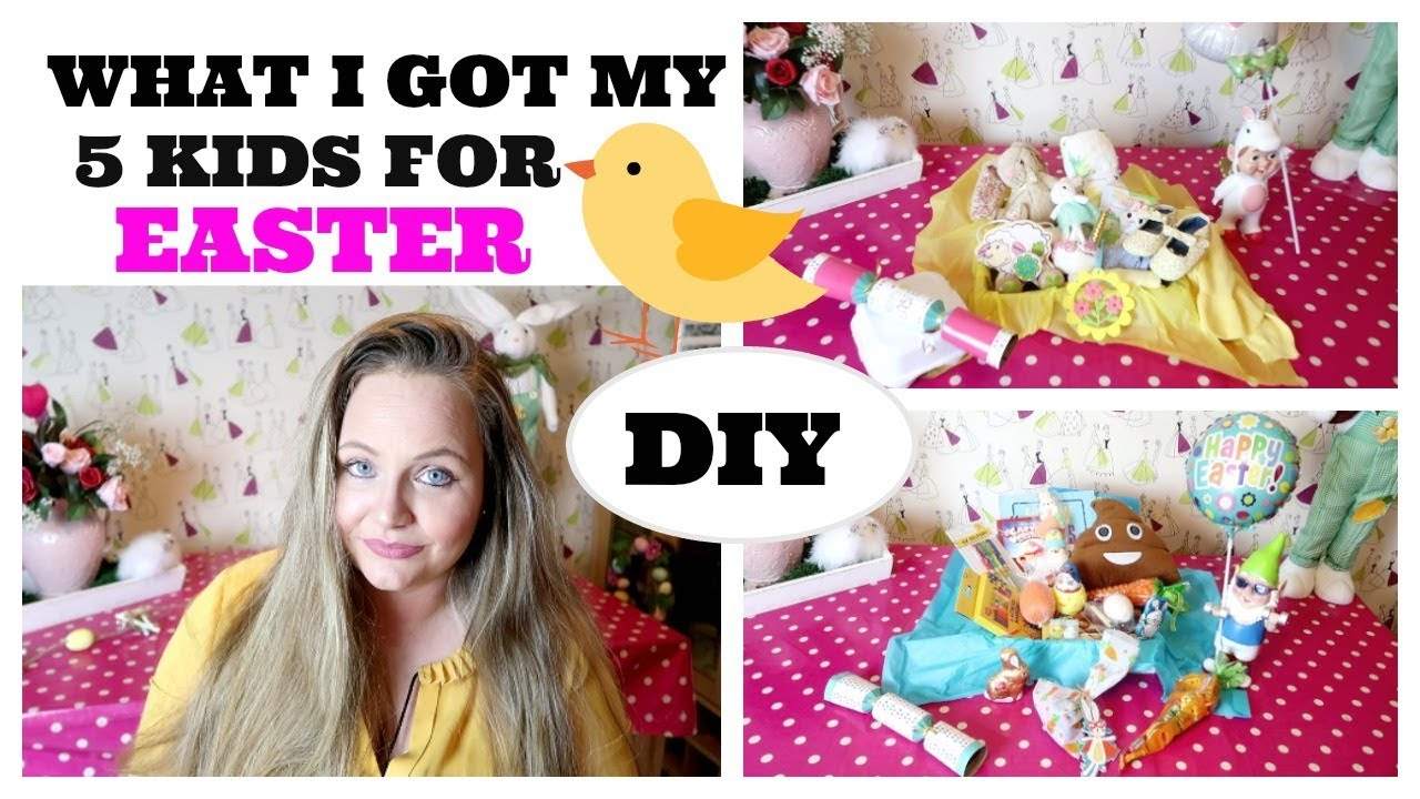 What i got my 5 kids for easter diy easter basket gift ideas boy what i got my 5 kids for easter diy easter basket gift ideas boy girl toddler and baby negle Choice Image