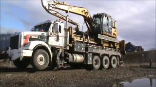 Canadian Pacific Hi-Rail Truck at Windermere