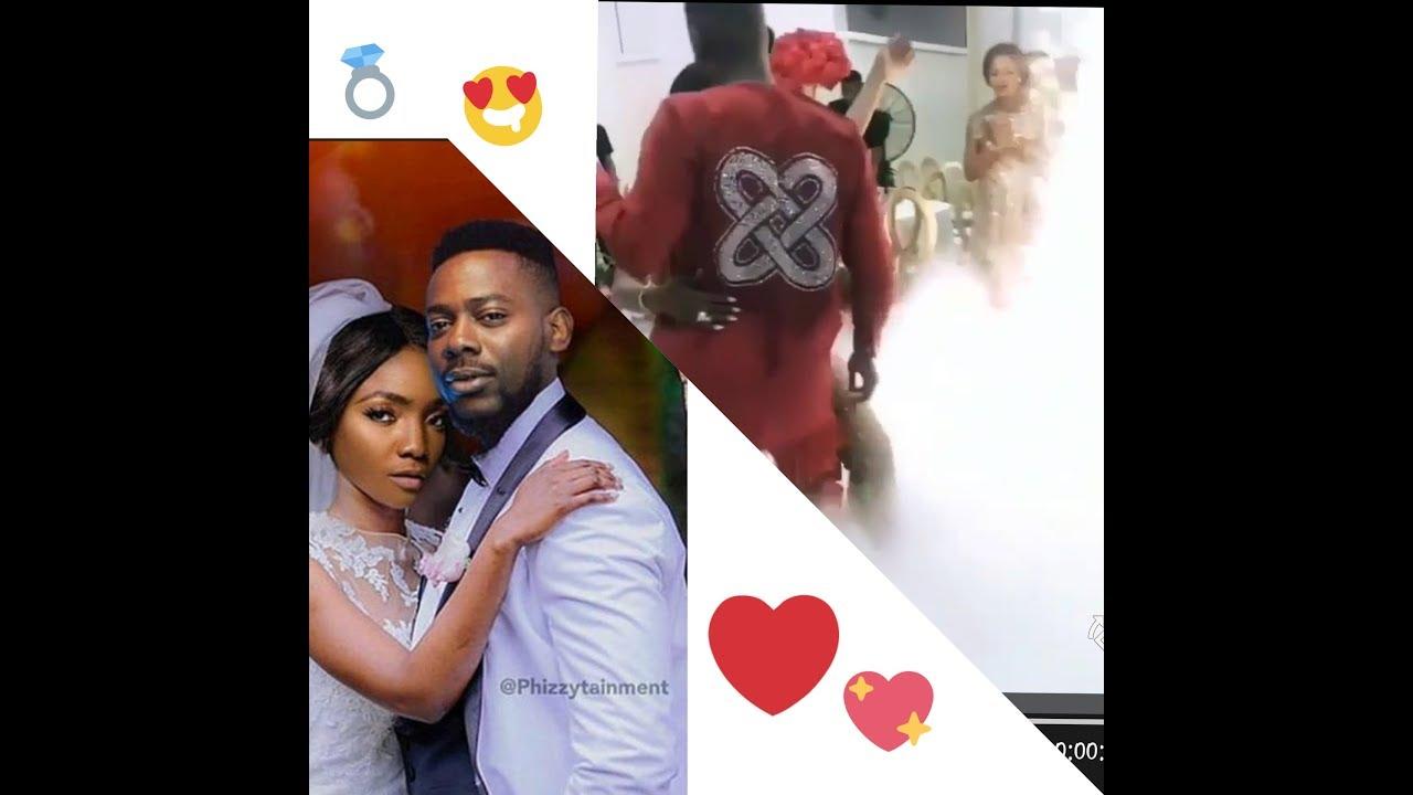 watch video of simi and adekunle gold's wedding 2019