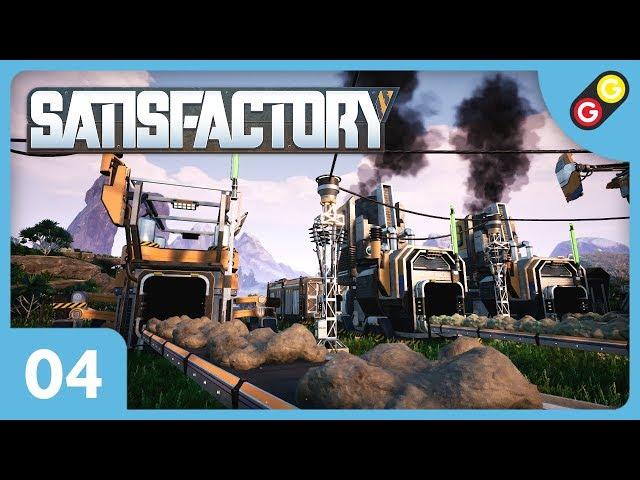Satisfactory #04 On produit en masse ! [FR]