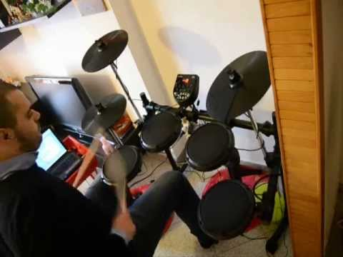 Drum test with ALESIS DM6 and ADDICTIVE DRUMS 1.5