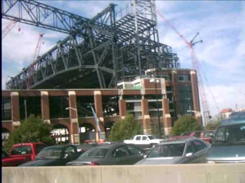 Lucas Oil Stadium Construction scene