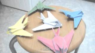 Advance Wars papercraft F-117 Stealth planes