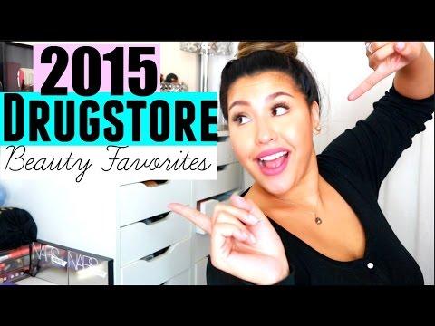 2015 DRUGSTORE BEAUTY FAVORITES!