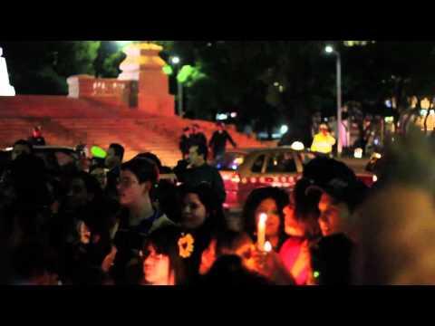 Marcha de Fans de Harry Potter en Reforma