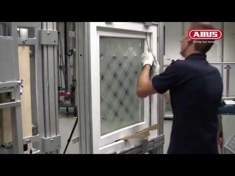 Fenstersicherung Von Abus Einbruchversuch Youtube