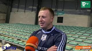 Kieran Bermingham reacts to win over Ballybrown