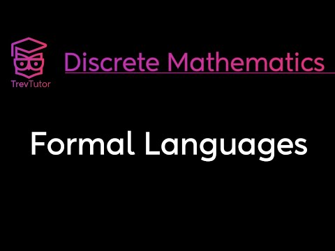 [Discrete Math 1] Formal Languages