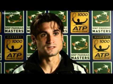 Ferrer Battles Past Fognini In Second Round Paris Match