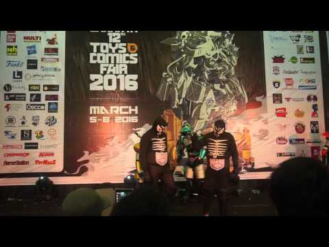 Tokusatsu Police Hero @ Jakarta Toys and Comic Fair 2016